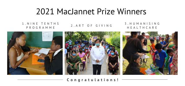 Announcing the Winners of the 2021 MacJannet Prize!