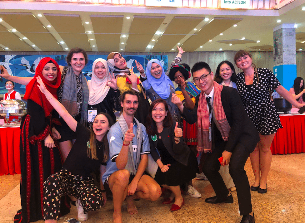 Tufts University student attends the Global Youth Leaders Summit in Hong Kong