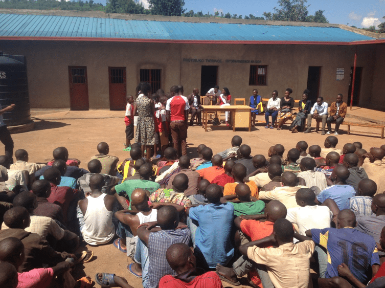 Steering Committee student representative, Mapendo Mindje, launches Global Community Partners (GCP) Initiative