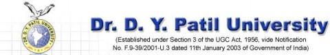 Dr. D.Y. Patil University Header