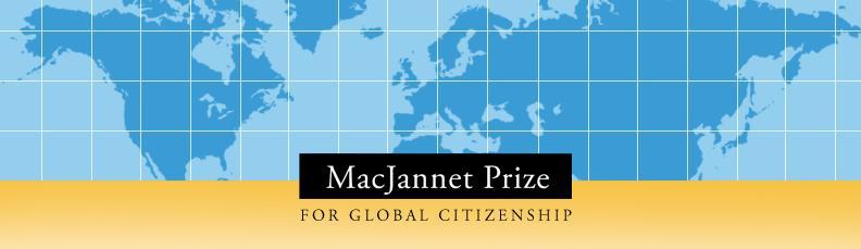MacJannet Prize Header